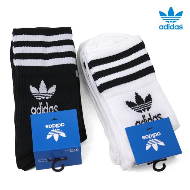 adidas,アディダス,靴下,ソックス,クルーソックス,IXX42