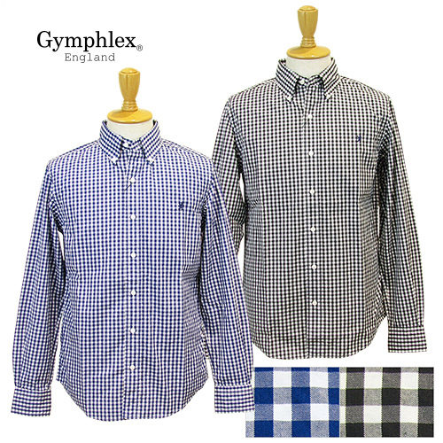 Gymphlex,ジムフレックス,長袖シャツ,メンズ
