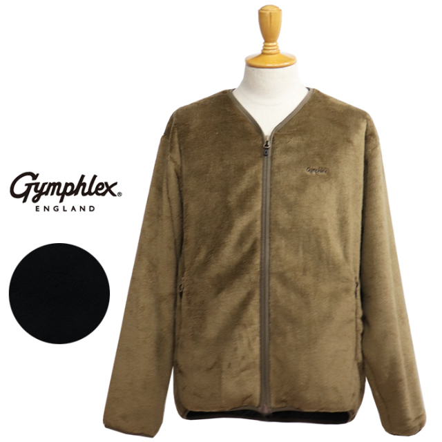 Gymphlex ジムフレックス フリースジップアップジャケット J-1447