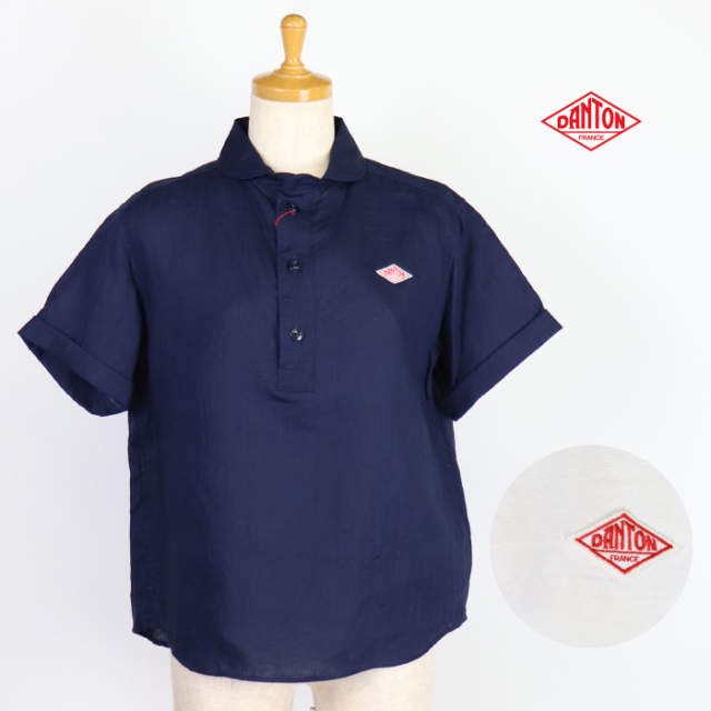 DANTON,ダントン,半袖シャツ,レディース