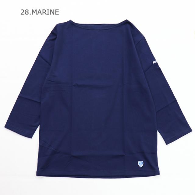 ORCIVAL オーシバル メンズ 7分袖ボートネックTシャツ RC-6882