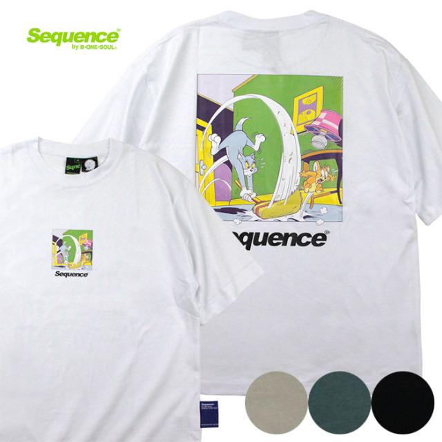 Sequence,シーケンス,半袖T,Tシャツ,トムとジェリー,T-1570901