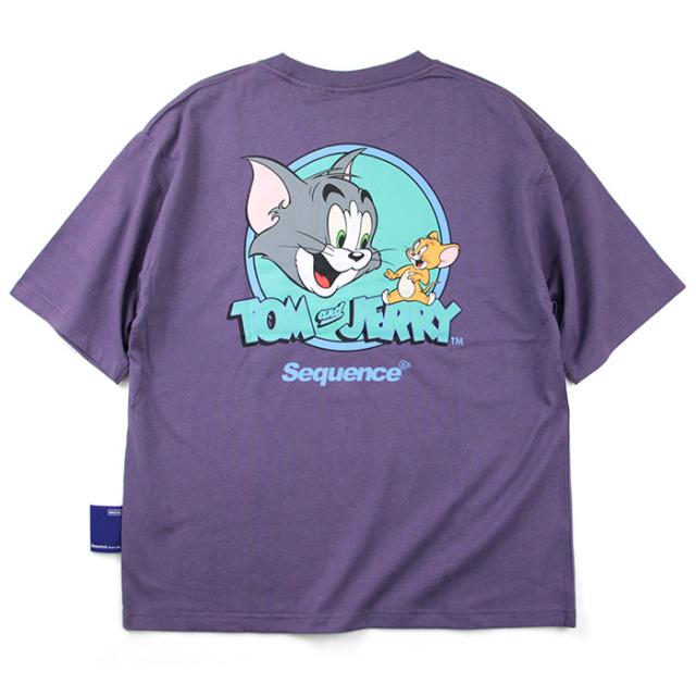 Sequence,シーケンス,半袖T,Tシャツ,トムとジェリー,T-1570902
