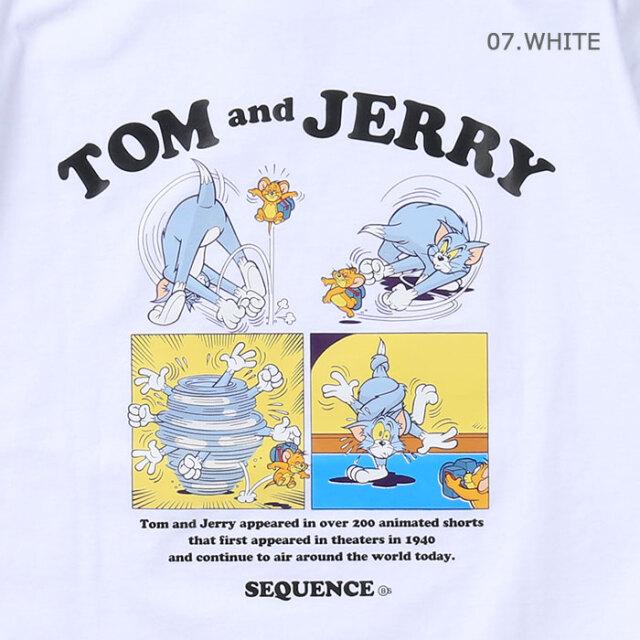 Sequence,シーケンス,半袖T,Tシャツ,トムとジェリー,T-1570906