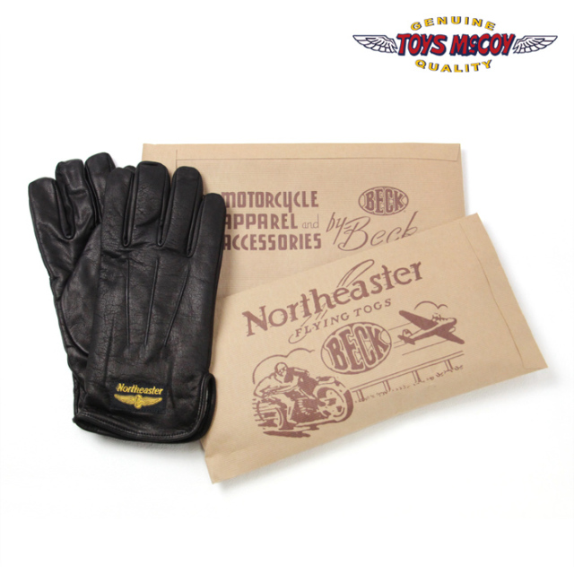TOYS McCOY トイズマッコイ BECK MOTORCYCLE GLOVE BECK モーターサイクル グローブ TMA1519