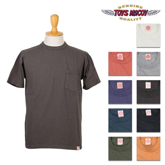 TOYS McCOY,トイズマッコイ,TMC1401,ポケT,ポケット付きTシャツ