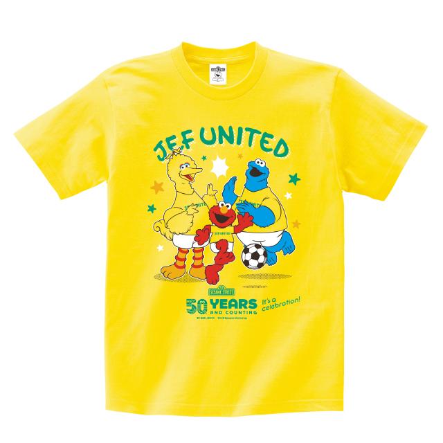 セサミストリートコラボTシャツ
