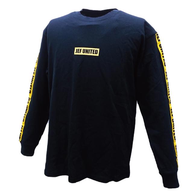 ロングスリーブTシャツ(袖ライン)
