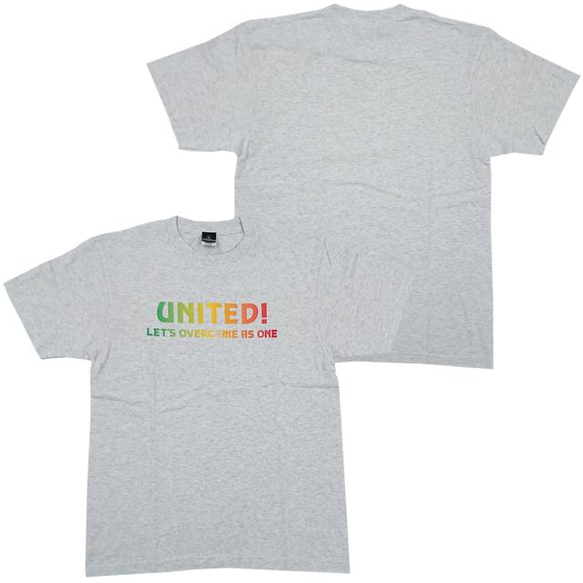 【Lサイズのみ】Tシャツ(ライトグレー)