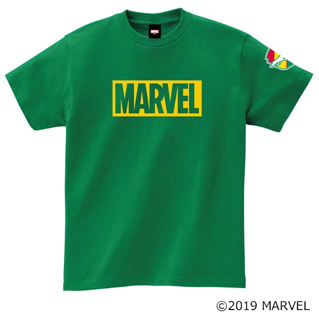 MARVELボックスロゴTシャツ