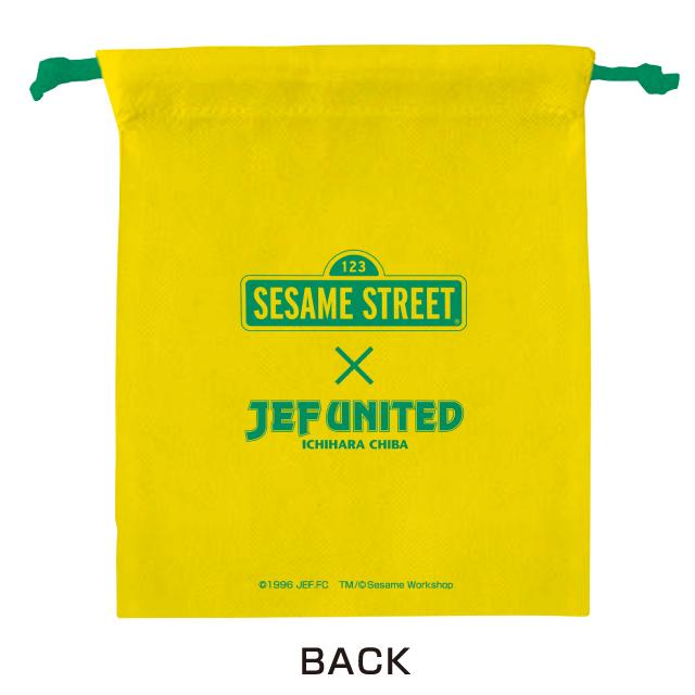 セサミストリートコラボ巾着