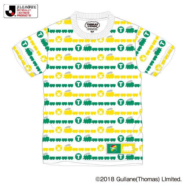 きかんしゃトーマスボーダー柄Tシャツ(110)