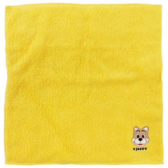 幸福の黄色い今治タオルハンカチ(ジェフィ)