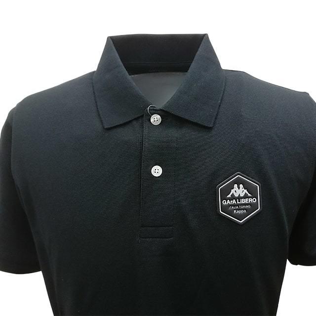 20半袖ポロシャツ(ブラック)