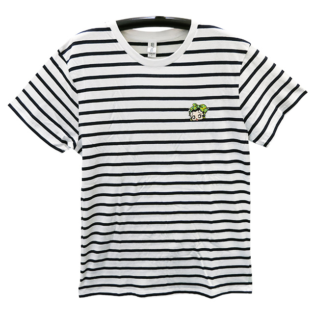 BETTY BOOPコラボボーダーワッペンTシャツ