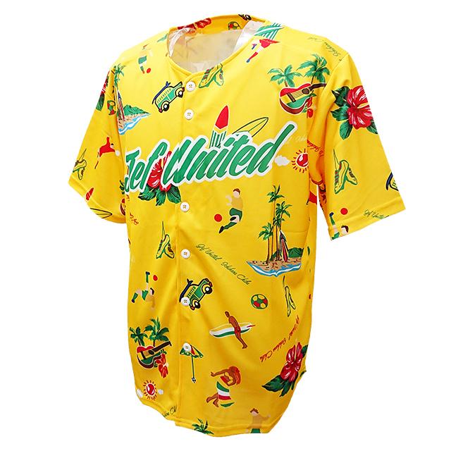 ベースボールアロハシャツ