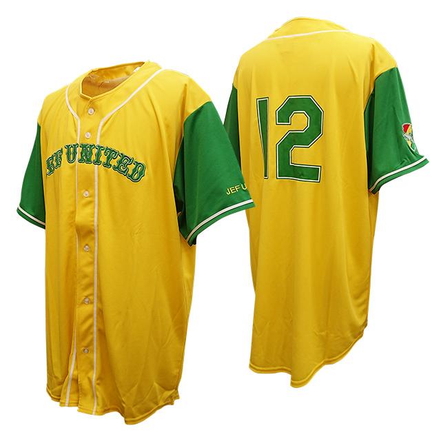 ベースボールスタイルシャツ