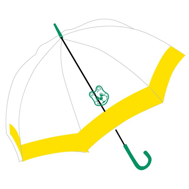 ドーム型ジャンプ傘(グリーン)