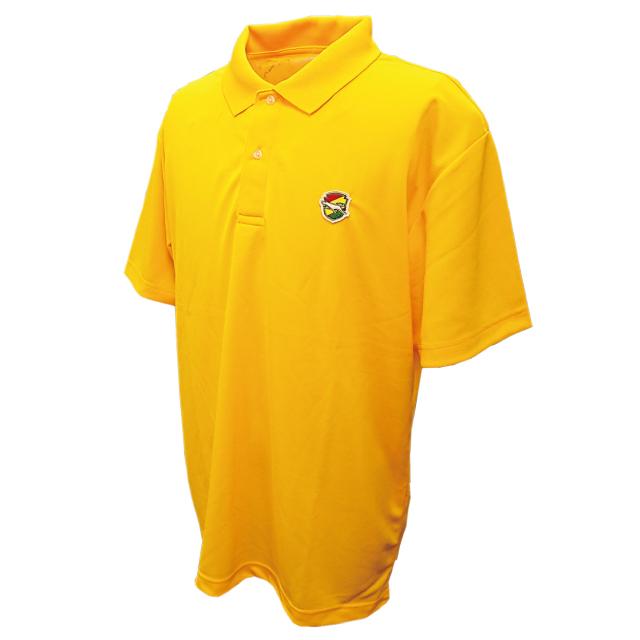 【イエロー2Lのみ】ドライカノコポロシャツ