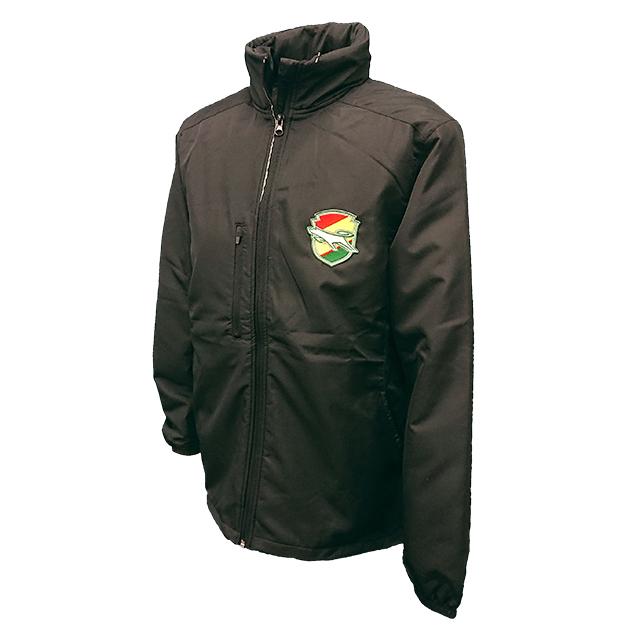 フリースライナー付きジャケット(ブラック)