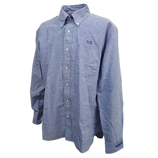 オックスフォードシャツ(ブルー)