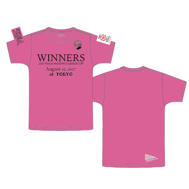 なでしこリーグカップ ウィナーズTシャツ