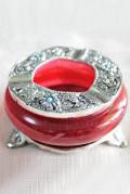 カラーガラス灰皿(レッド/イエロー/グリーン)