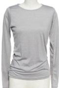 インナー■ポリレーヨン素材のロングTシャツ(ライトグレー)