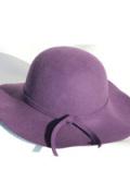 フェルト帽つば広帽子
