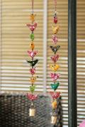 小鳥の吊るし飾り ハンギング10連バード