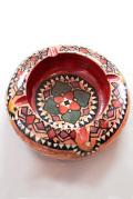 アジアン木製灰皿-大