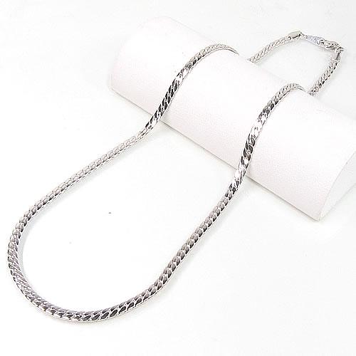 ゲルマニウムネックレス  約 50cm(シルバー輝きコーティング・変色防止済み)試験成績表付・送料無料