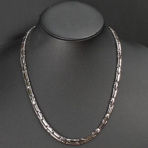 日本製 純チタン 純ゲルマニウム 12石 オールミラー(鏡面) ネックレス 送料無料