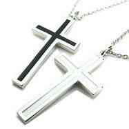 導きの十字架 ペアネックレス・送料無料