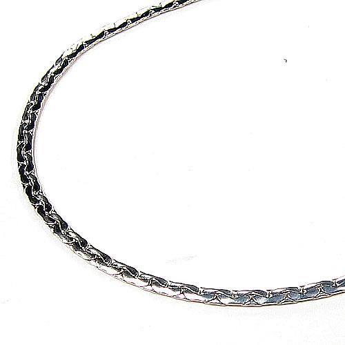 ゲルマニウムネックレス 約42cm (女性用)(シルバー輝きコーティング・変色防止済み)・送料無料