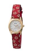 和心・シルバー文字盤 クオーツ 腕時計・(桜の花 シェル) レディース(女性用) 日本製・送料無料