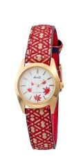 和心・日本製・腕時計 (紅葉柄 シェル) レディース(女性用) 日本製・送料無料