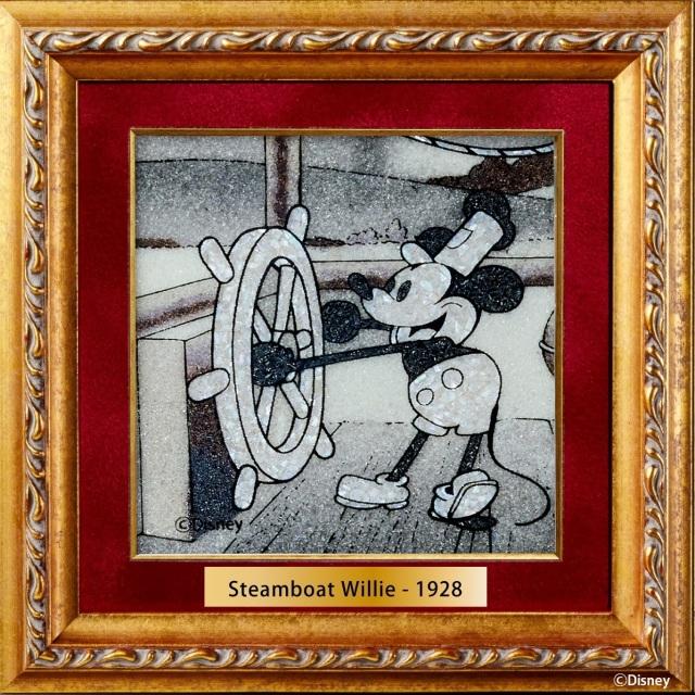 ジュエリー絵画 ディズニー 『蒸気船ウィリー』