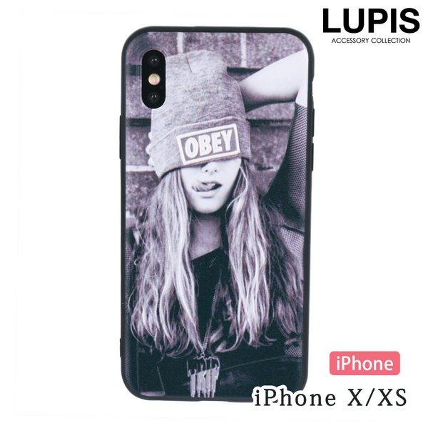 ストリートガールiPhone用ケース【iPhoneX・iPhoneXS】