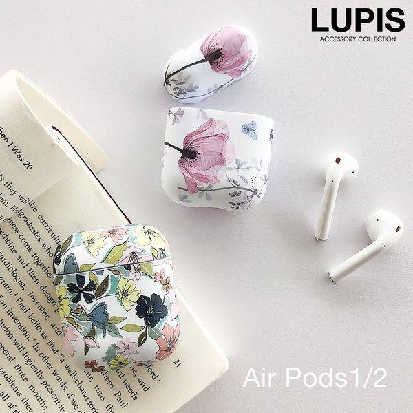 フラワープリントAirPodsケース【AirPods・AirPods2】