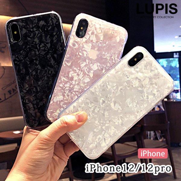 シェルクリアiPhoneケース【iPhone12・iPhone12Pro】