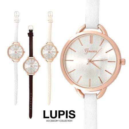 ゴールドフェミニンシンプルウォッチ・腕時計
