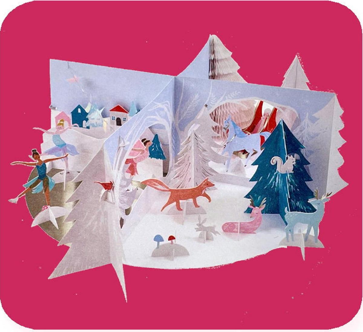 ペーパークラフトアドベントカレンダー「すてきな雪景色」