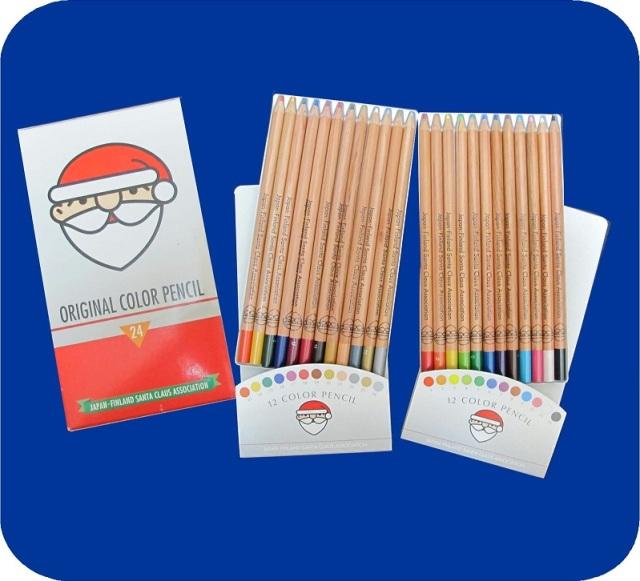 オリジナル色鉛筆24色