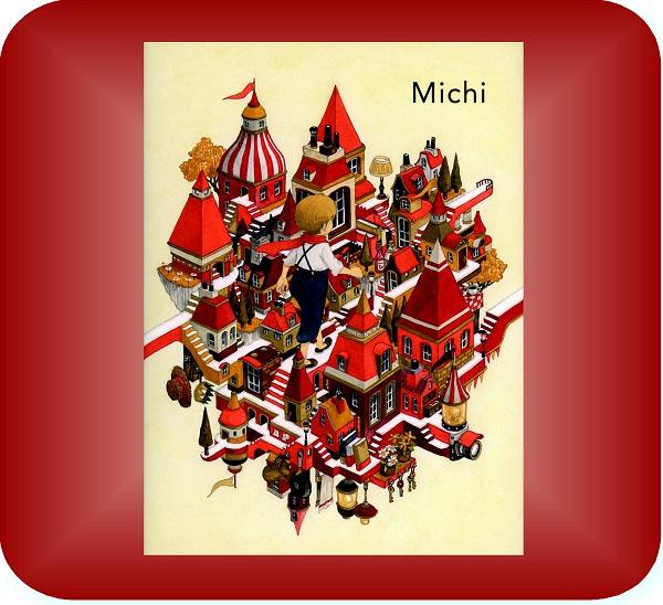 文字のない絵本「Michi」