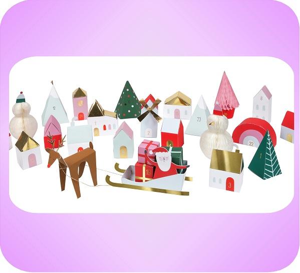 クリスマスヴィレッジ アドベントカレンダー
