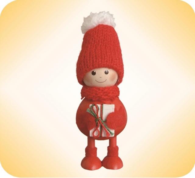 ニッセ人形~プレゼントを抱えた子~