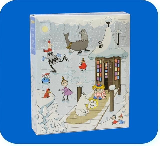 ムーミン クリスマスフィギュア アドベントカレンダー