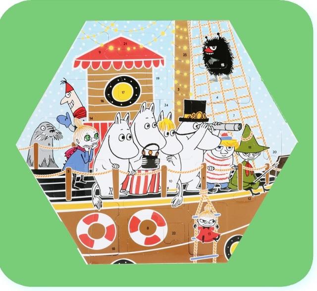 ムーミン フィギュア アドベントカレンダー