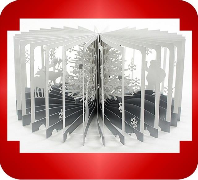 360°BOOK「雪降る森」